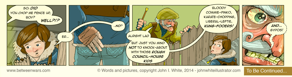 Strip: Angry Old Boy (part 2)